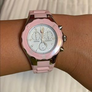 Michele Tahitian Jelly Bean Barely Pink Watch